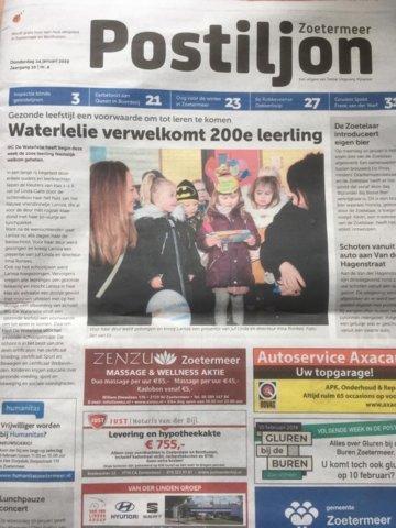 201901 Postiljon 200 leerlingen op Waterlelie